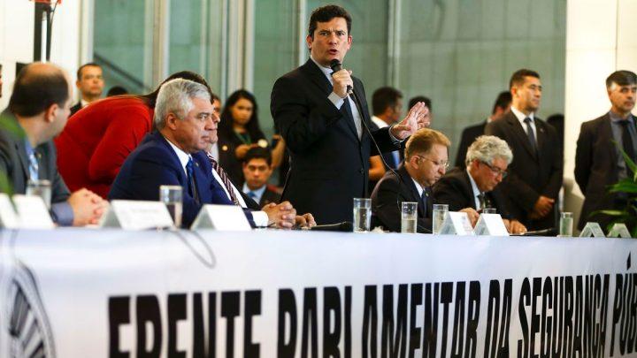 Moro pede ao Congresso Nacional que priorize projeto de lei anticrime