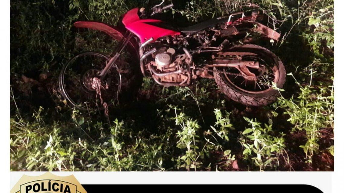 Polícia Civil recupera motocicleta furtada na cidade de Cunha Porã