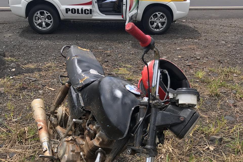 Polícia Militar prende homem com motocicleta furtada há 13 anos