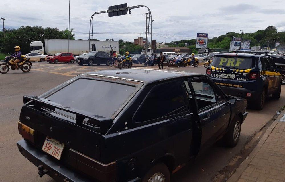 PRF recupera carro roubado há 30 anos