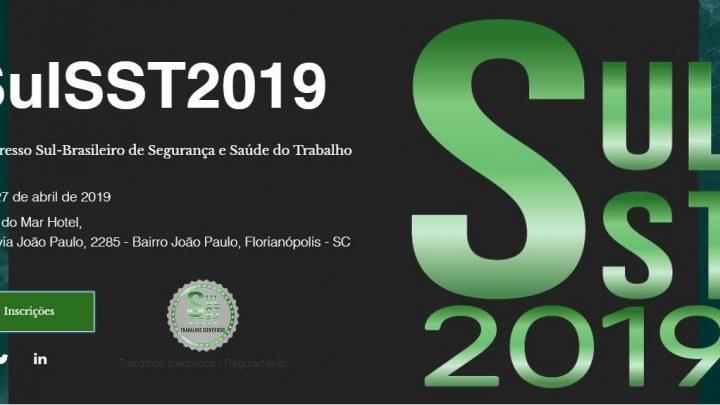 Abertas as inscrições para o 1º Congresso Sul-Brasileiro de Segurança e Saúde do Trabalho