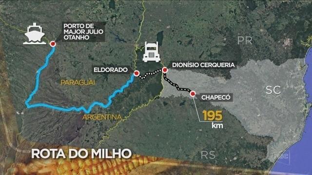 Santa Catarina e Argentina discutem implementação da Rota do Milho