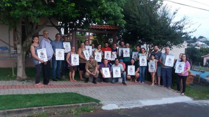 Bairro Bela Vista adere ao programa rede de vizinhos da Polícia Militar