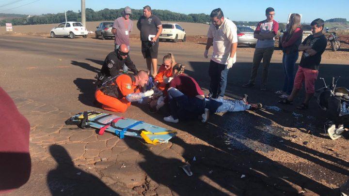 Motociclista morre em outra colisão entre moto e caminhão na SC-484 em Guatambu