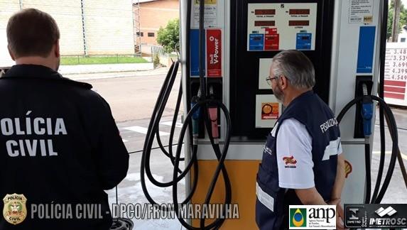 """Polícia Civil de Maravilha realiza operação """"Posto Seguro"""""""