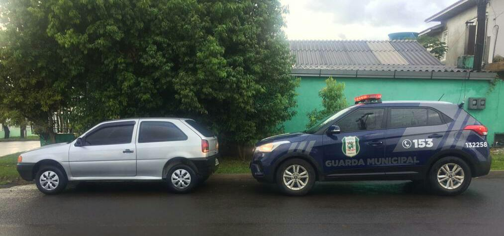 Guarda Municipal recupera mais um veículo com registro de furto/roubo em Chapecó