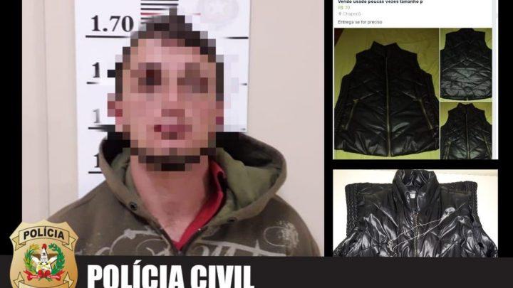Polícia Civil prende indivíduo com mais de 50 passagens por furtos em Chapecó