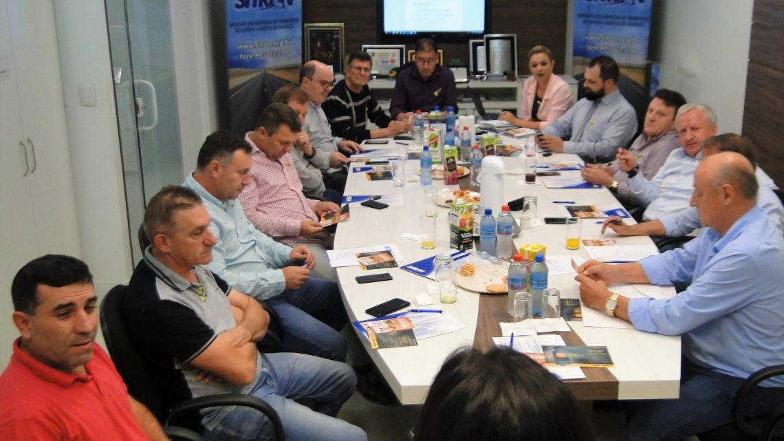 SITRAN estuda formação de núcleo da COMJOVEM nacional em Chapecó