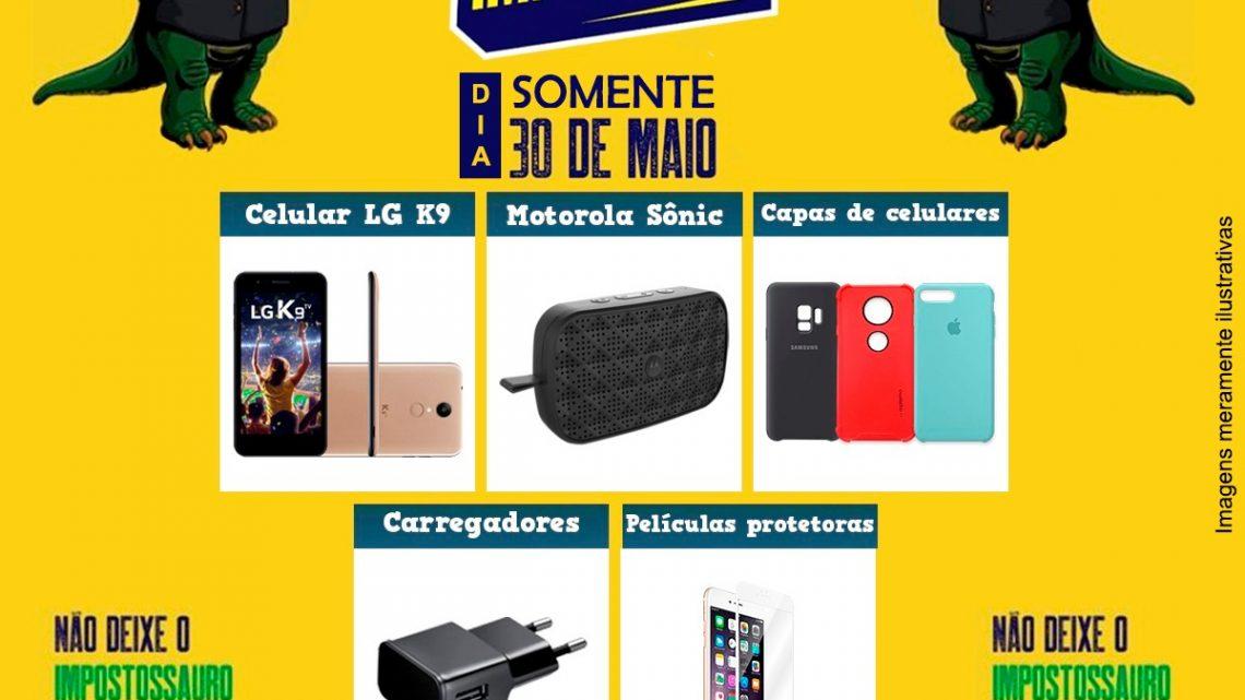 Dia Livre de Impostos amanhã reúne mais de 100 lojas em Chapecó