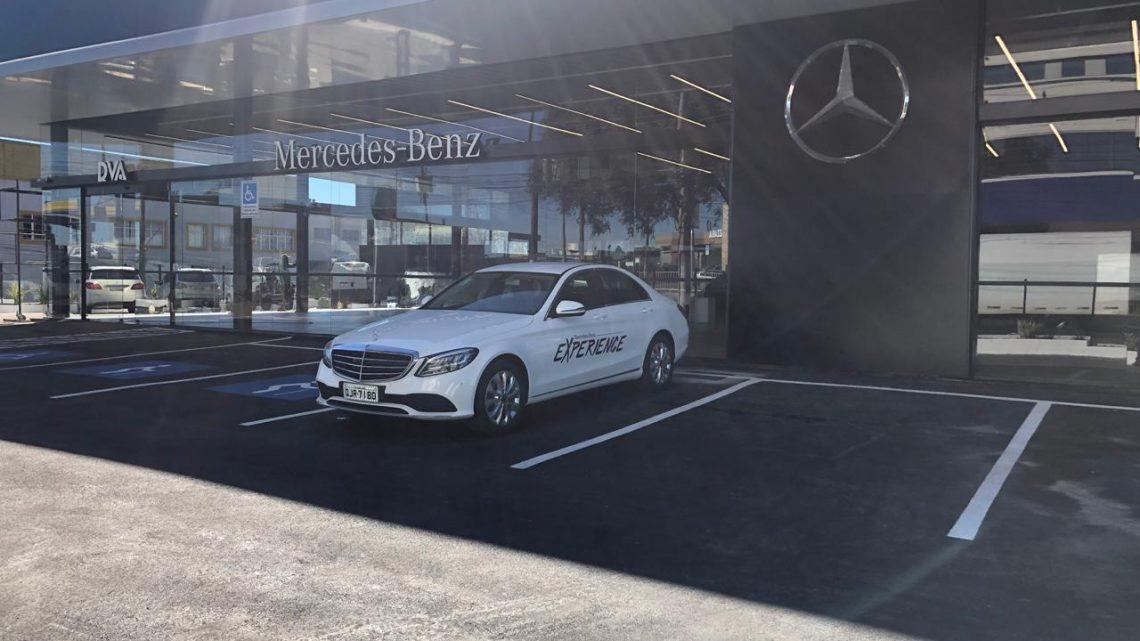 A estrela da Mercedes-Benz chega a Chapecó