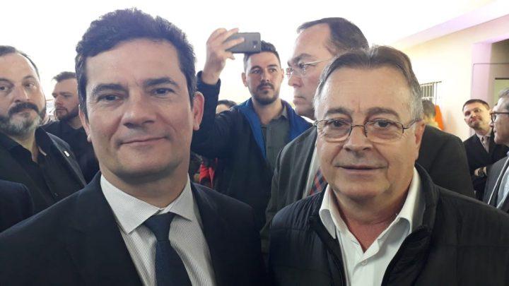 Presidente do SITRAN se encontra com ministro da Justiça Sérgio Moro
