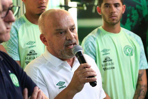 Diretor de futebol da Chapecoense Newton Drummond é demitido