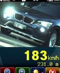 Automóvel é flagrado a mais que o dobro da velocidade máxima na BR 282 em Xanxerê