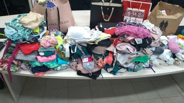 Campanha arrecada roupas íntimas para presas em Chapecó
