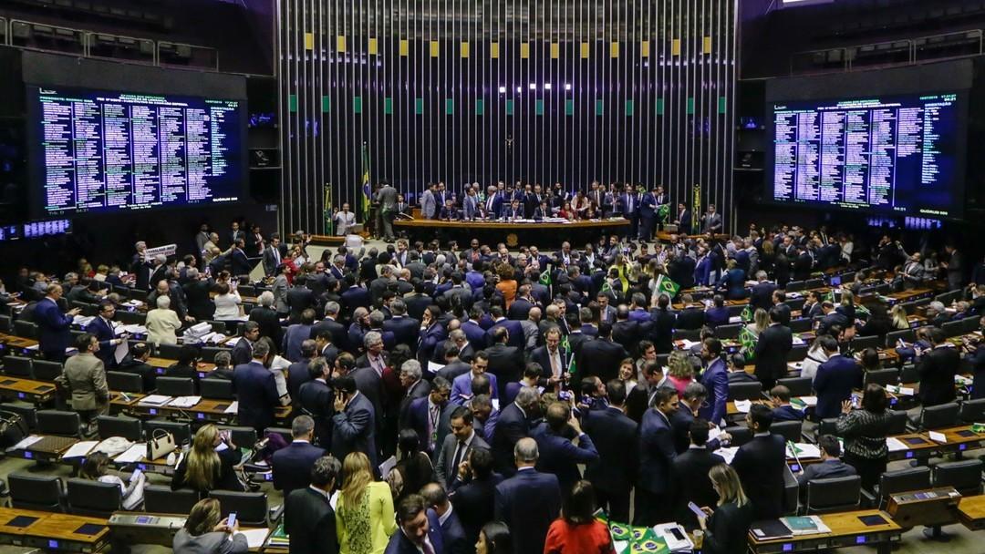 Câmara aprova em primeiro turno por 379 votos a 131 o texto-base da PEC da Reforma da Previdência