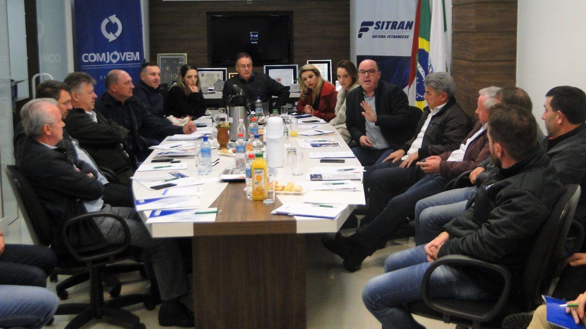 Presidente e coordenador da Fetranslog são reeleitos
