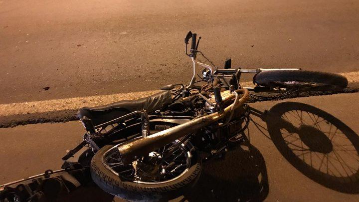 Motociclista morre após colisão com caminhão e outros veículos na BR-480