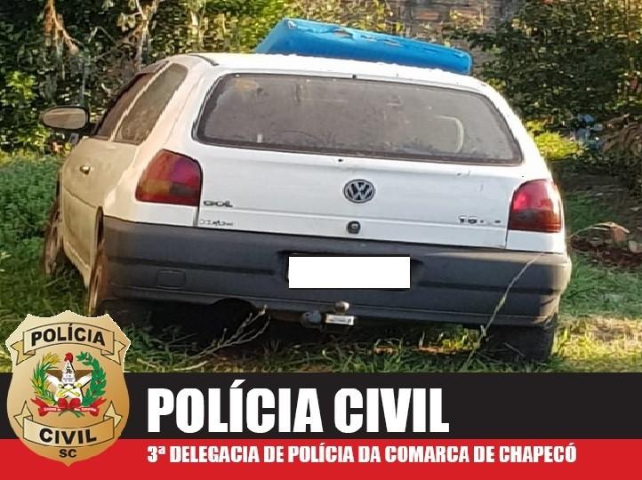 Polícia Civil apreende dois veículos clonados em Chapecó