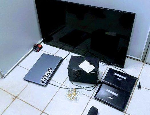 Objetos de furto são encontrados em residência no bairro Efapi