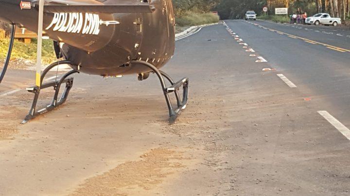 Motociclista morre após colisão com caminhão na SC-283 em Planalto Alegre
