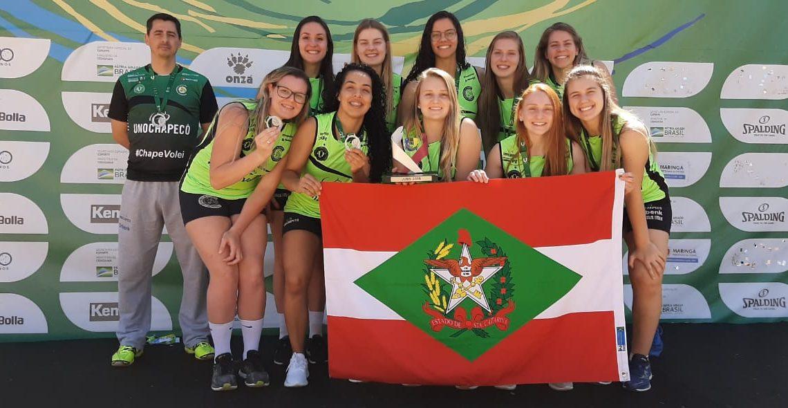 ACV leva Unochapecó ao pódio e irá disputar Brasileiro