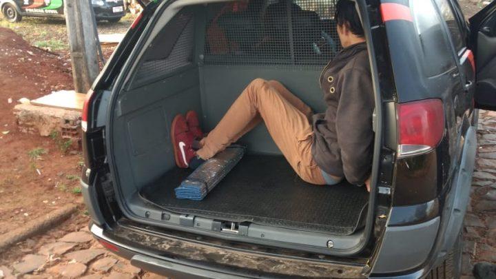 Polícia Civil prende traficante em flagrante em Pinhalzinho
