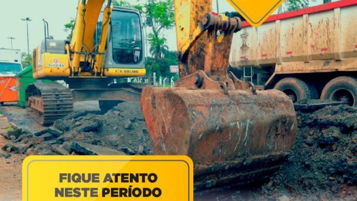 Prefeitura de Chapecó alerta para alterações no trânsito devido obras na General Osório