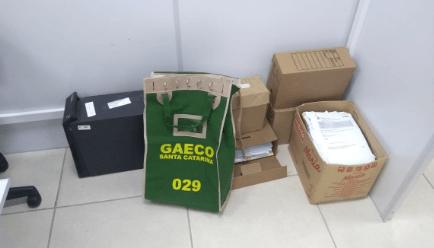 MPE realiza operação de combate à corrupção em Chapecó