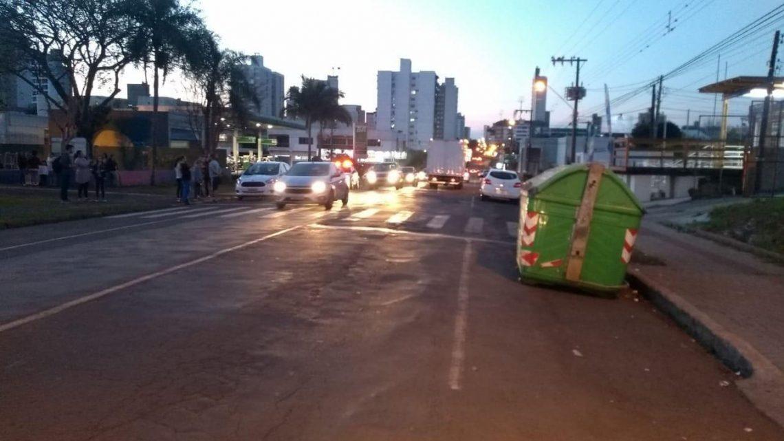 Criança de sete anos é atropelada no bairro Santa Maria em Chapecó