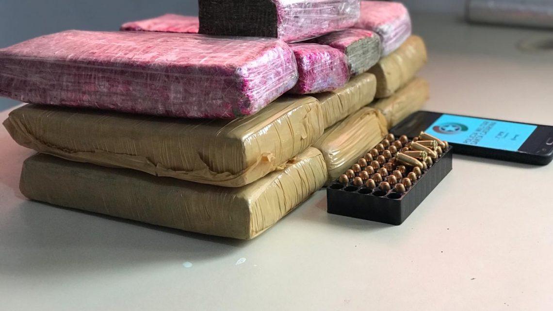 Policia Militar faz grande apreensão de drogas e munições em Chapecó