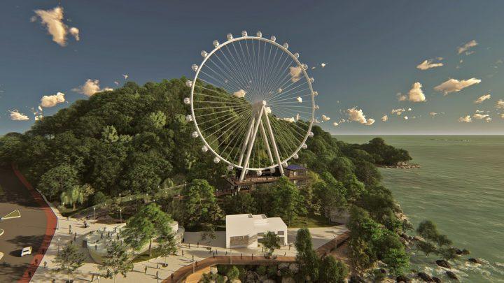Iniciada a obra de construção da BC Big Wheel, a roda gigante de Balneário Camboriú