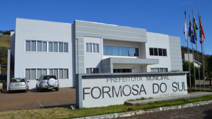 Governo Municipal de Formosa do Sul abre concurso público