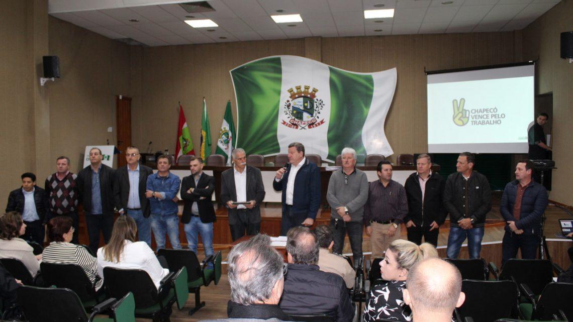 Programa Mãos à Obra prevê investimentos de R$ 130 milhões em Chapecó