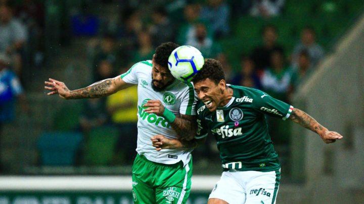 Chapecoense é superada pelo Palmeiras aos 54′ do 2° tempo