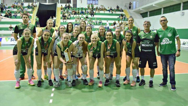 Chape Vôlei tem sequência intensa de jogos com os Jogos Universitários Brasileiros e os Jogos Abertos de Santa Catarina