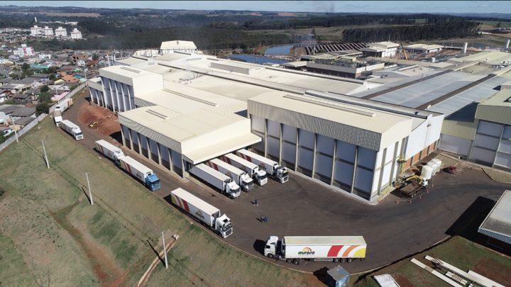 Aurora inaugurou o maior frigorífico de suínos do Brasil