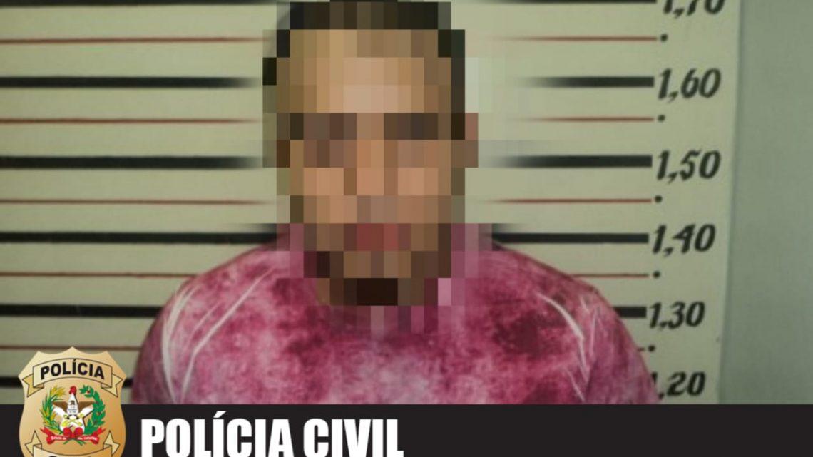 Polícia Civil de Chapecó prende autor de homicídio