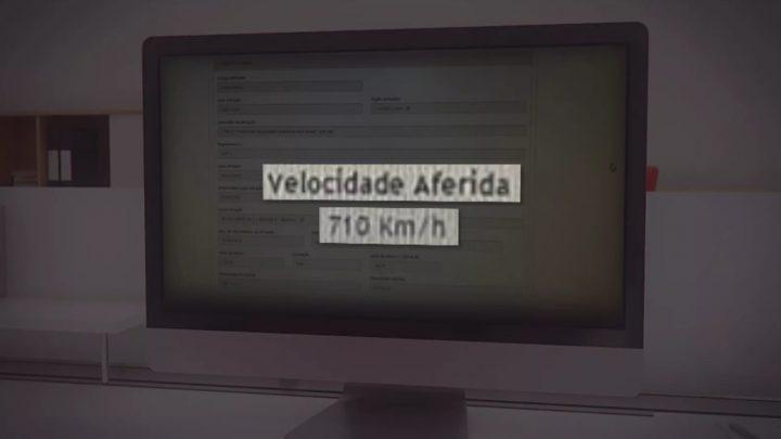 Motorista é 'flagrada' a 710 km/h em rodovia de Brasília