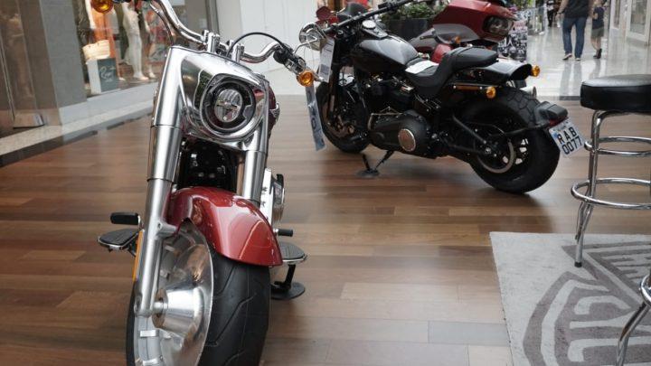 Harley-Davidson apresenta exposição de motos no Shopping Pátio Chapecó