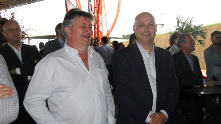 Ato inaugural do maior frigorifico de suínos do Brasil tem representação do SITRAN