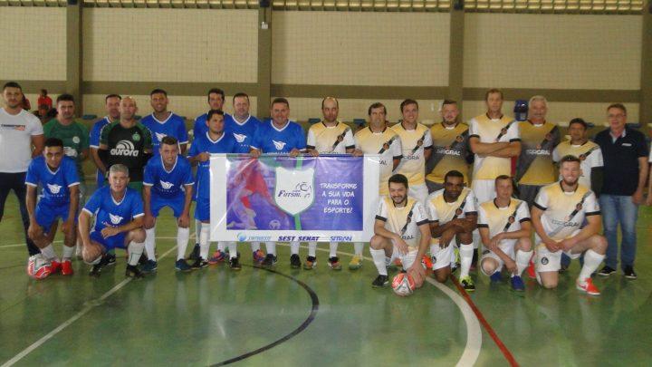 """Copa de Futsal Sest Senat/Sitran/Sintroeste abriu com """"chuva"""" de gols"""