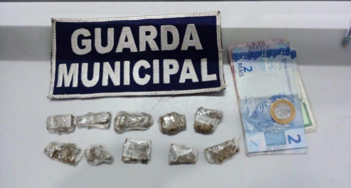 Guarda Municipal apreende menor praticando tráfico no bairro Universitário em Chapecó