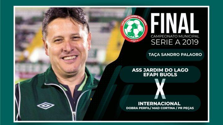 Final do Campeonato Municipal de Futebol será hoje às 20hs na Árena Condá