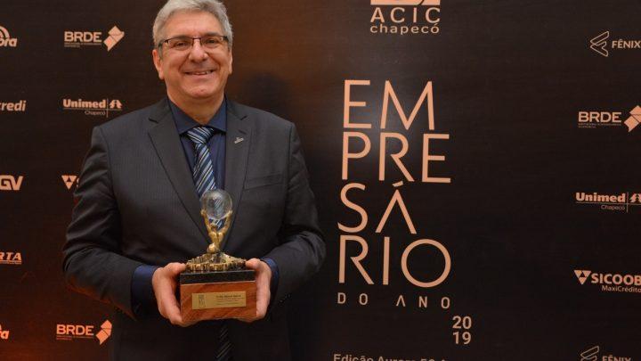 Clóvis Spohr é eleito Empresário do Ano 2019