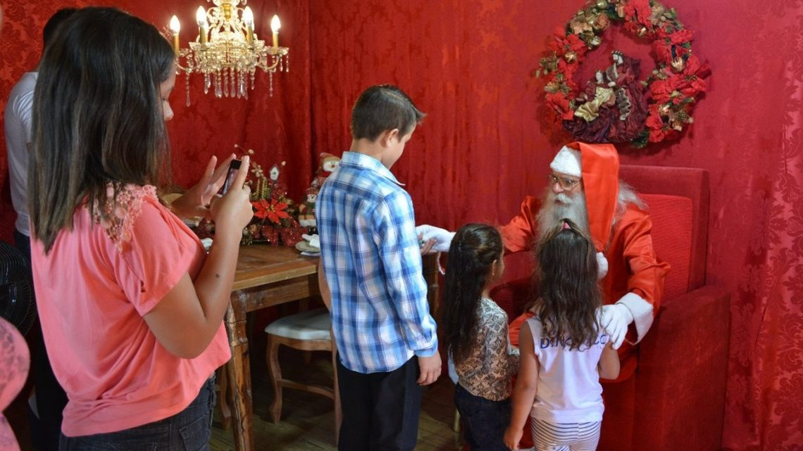 Casa do Papai Noel abre as portas neste domingo em Chapecó