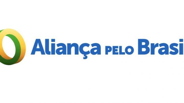 Filho de Bolsonaro revela logo de partido que presidente quer criar