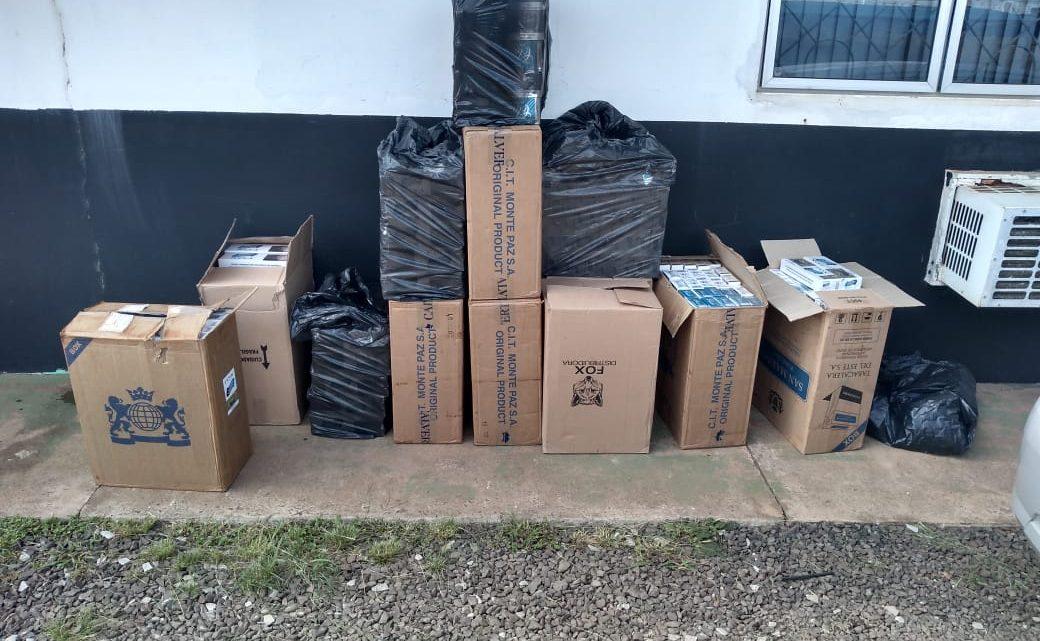 Polícia Civil prende contrabandista com seis mil maços de cigarros do Paraguai em Chapecó