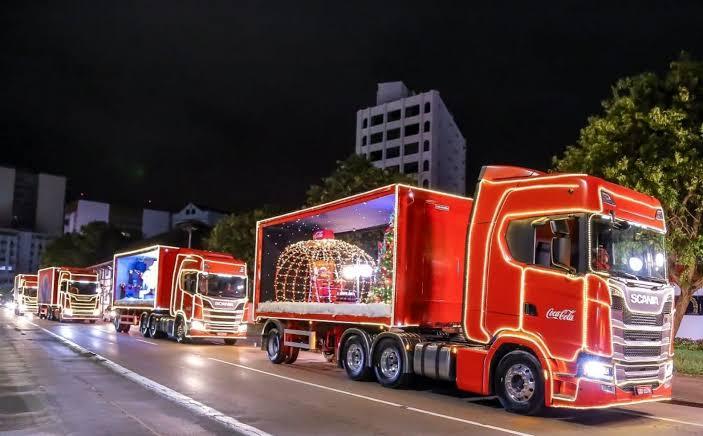 Caravana da Coca-Cola já tem data para passar em Chapecó