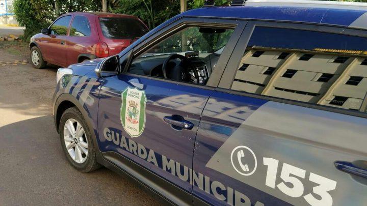 Guarda Municipal recupera veículo Corsa com registro de furto/roubo em Chapecó