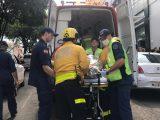 Mulher sofre queimaduras após sofrer descarga elétrica no centro de Chapecó